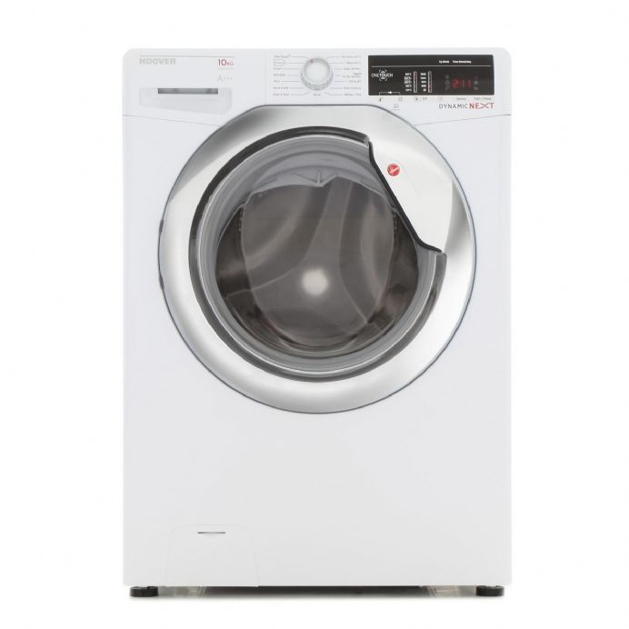 Hoover DXOA510C3/1-80  DynamicNext 10kg 1500 Spin Washing Machine - White/Chrome